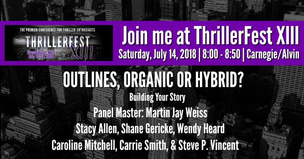 Thriller Fest Panel Graphic